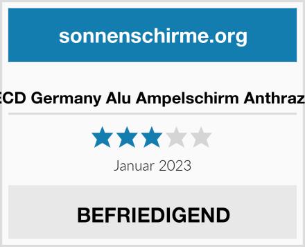 ECD Germany Alu Ampelschirm Anthrazit Test