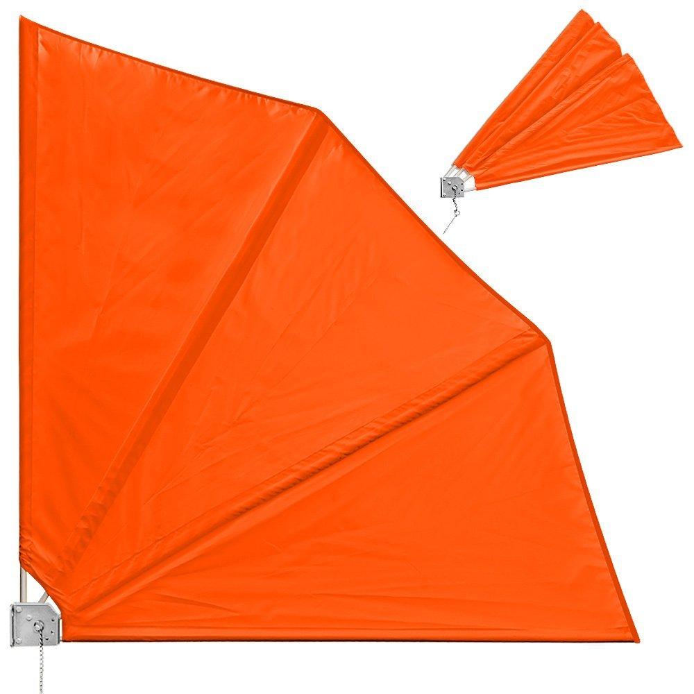 monzana Balkonfächer Orange