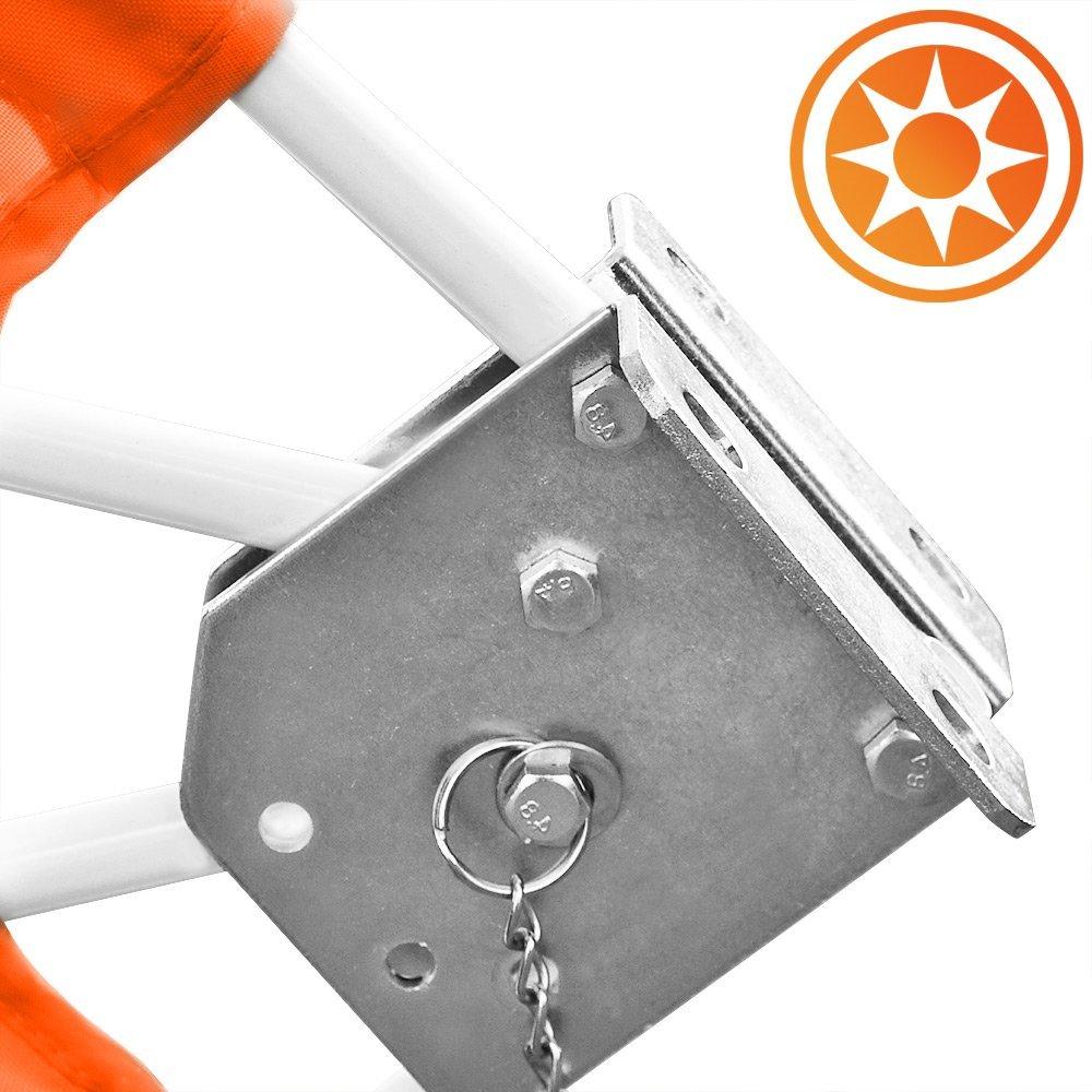 Monzana Balkonfacher Orange Test Sonnenschirme Test 2020