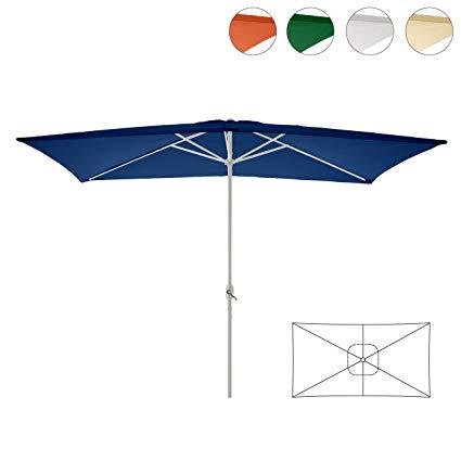 Nexos Trading Sonnenschirm blau