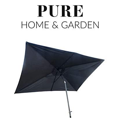 No Name Pure Home & Garden Kurbelschirm