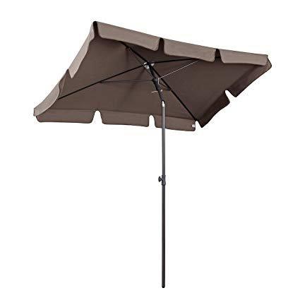 Sekey 200 × 125 cm Sonnenschirm