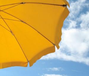 Sonnenschirme und UV-Strahlung