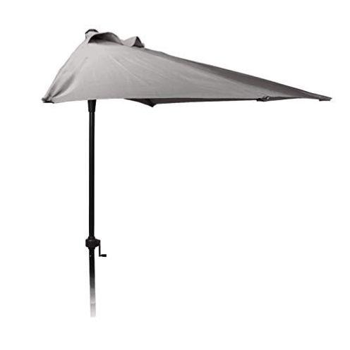Spetebo Halbrunder Wand Sonnenschirm - 250cm