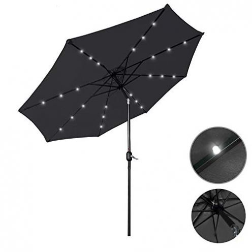 Aufun Sonnenschirm mit Handkurbel Ø350 cm