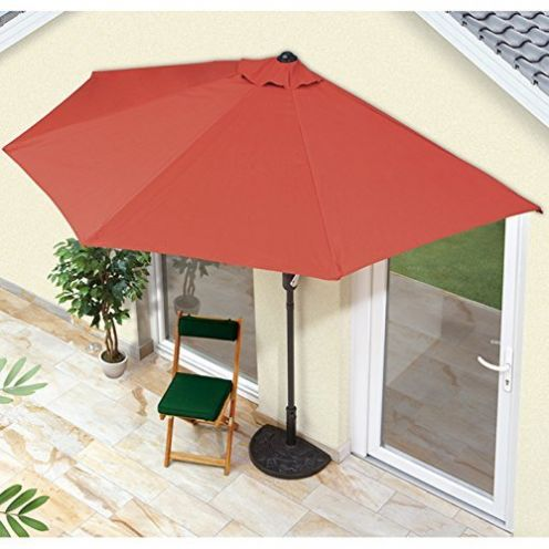 EASYmaxx Sonnenschirm 'Balkon/Terasse halbrund'