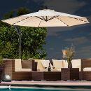 Swing&Harmonie Sonnenschirm mit LED Beleuchtung