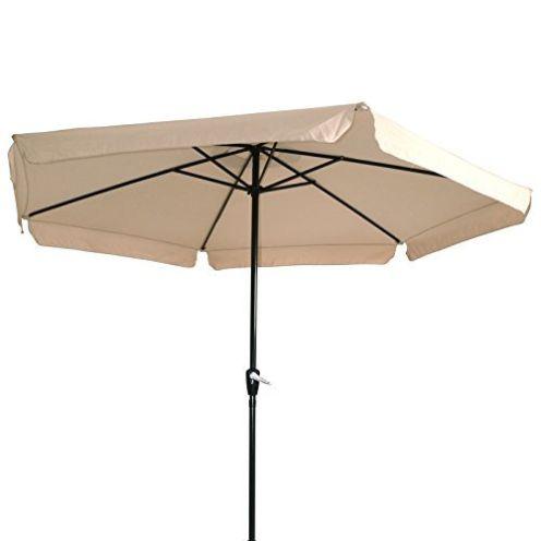 Lesli Living Sonnenschirm mit Kurbel