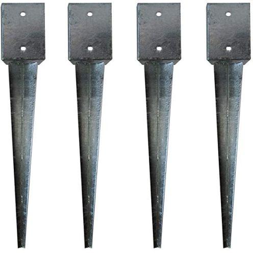 KS-Direkt Bodenhülsen für 10x10cm Kantholz
